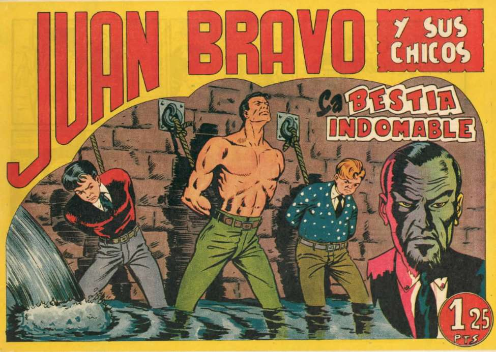 Comic Book Cover For Juan Bravo 02