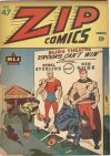 Cover For Zip Comics 47
