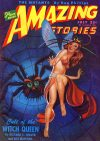 Cover For Amazing Stories v20 4 Cult of the Witch Queen Richard S. Shaver