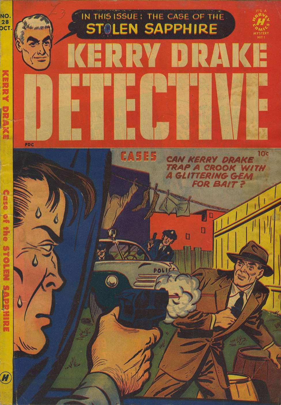 Comic Book Cover For Kerry Drake Detective Cases #28