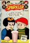 Cover For Sparkler Comics 84
