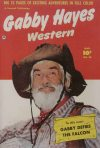 Cover For Gabby Hayes Western 28
