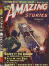 Cover For Amazing Stories v13 9 Beast of the Island A. M. Phillips