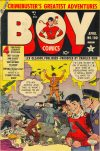 Cover For Boy Comics 100