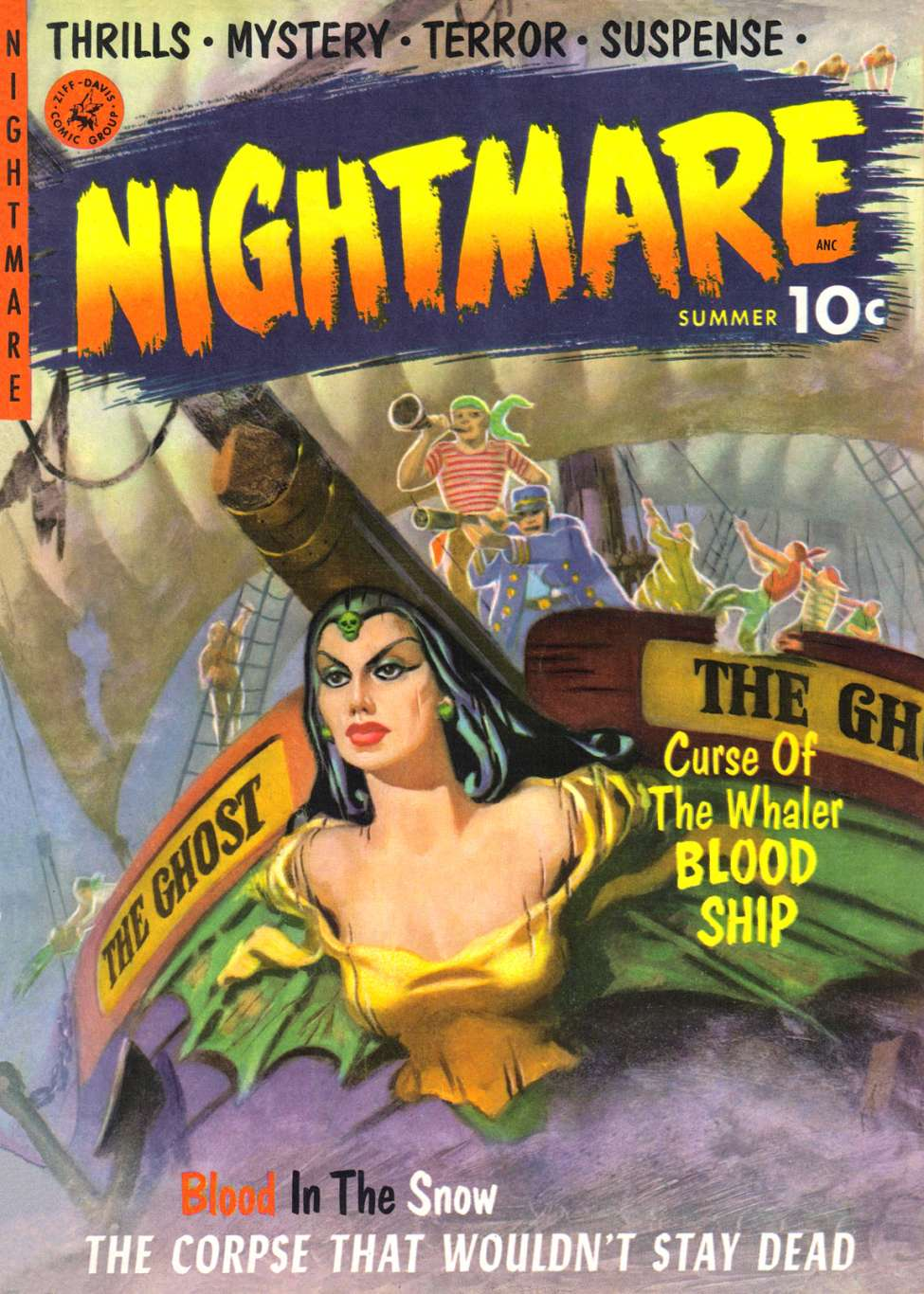 Comic Book Cover For Nightmare #1