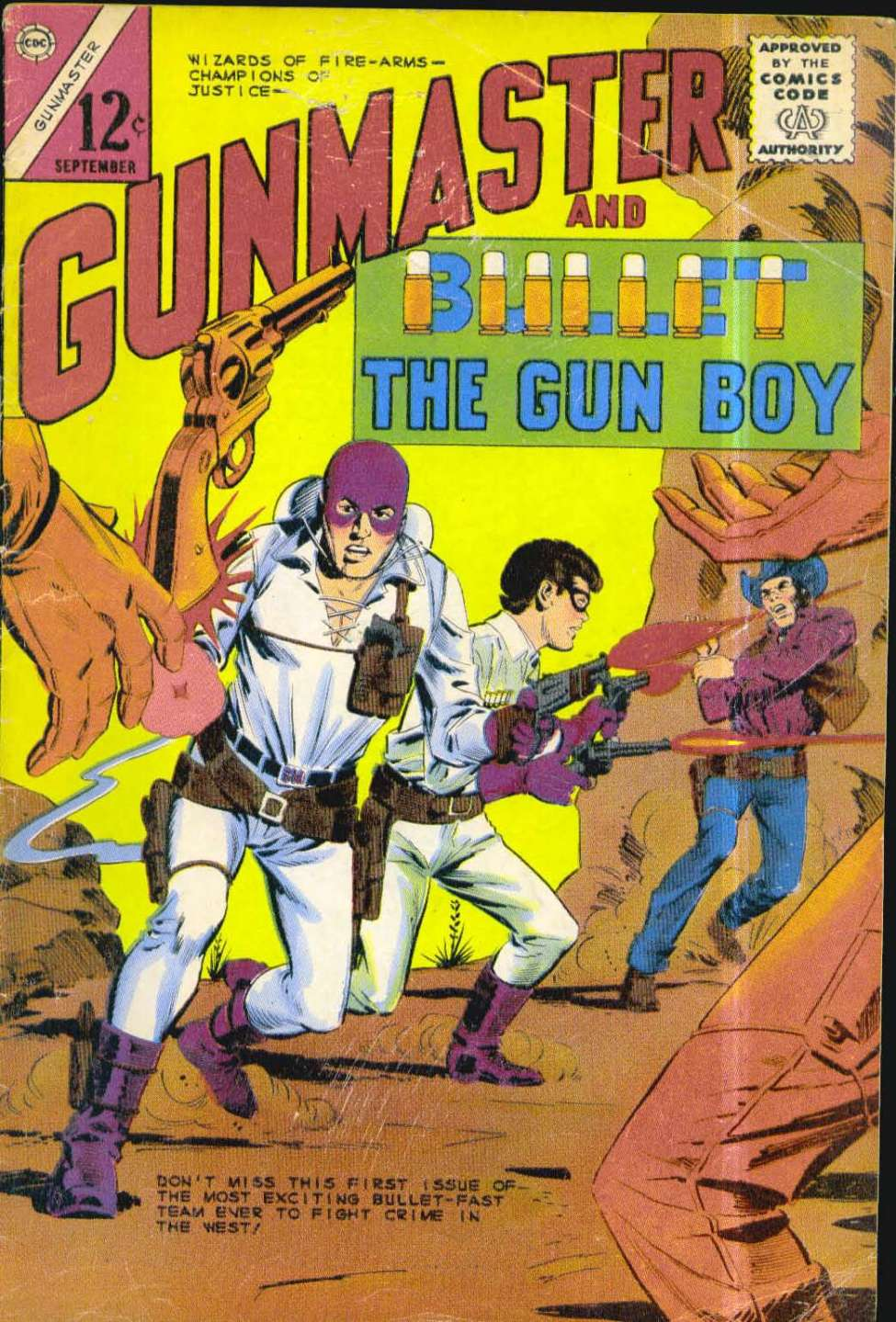 Comic Book Cover For Gunmaster #1