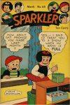 Cover For Sparkler Comics 65