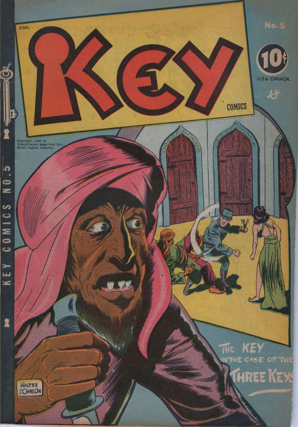 Comic Book Cover For Key Comics #5