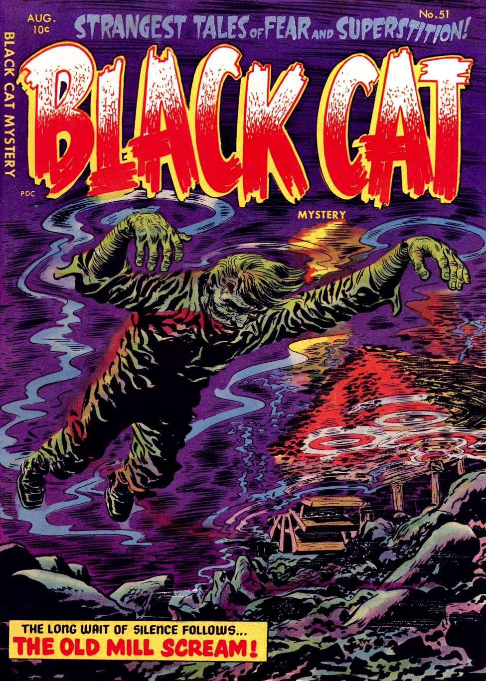 Comic Book Cover For Black Cat #51