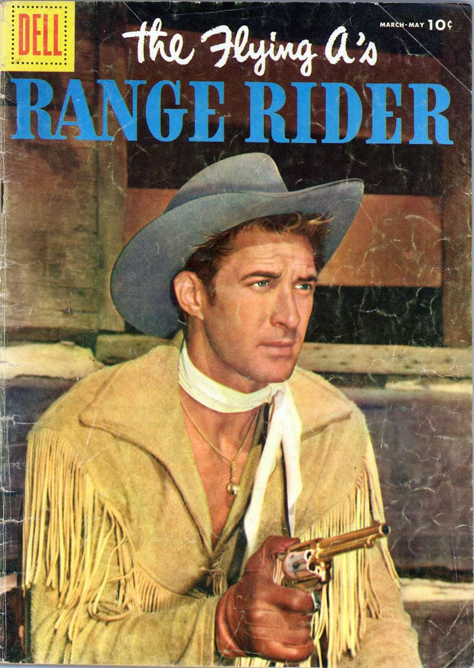 Comic Book Cover For The Flying A's Range Rider #13