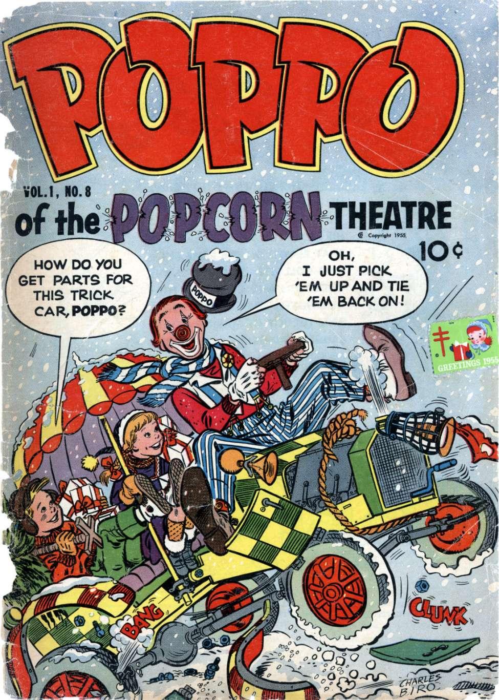 Comic Book Cover For Poppo of the Popcorn Theatre v1 #8