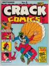 Cover For Crack Comics 5 (12 fiche)
