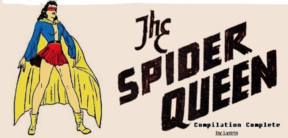 Comic Book Cover For The Spider Queen