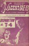 Cover For L'Agent IXE 13 v1 9 La disparition de T 4