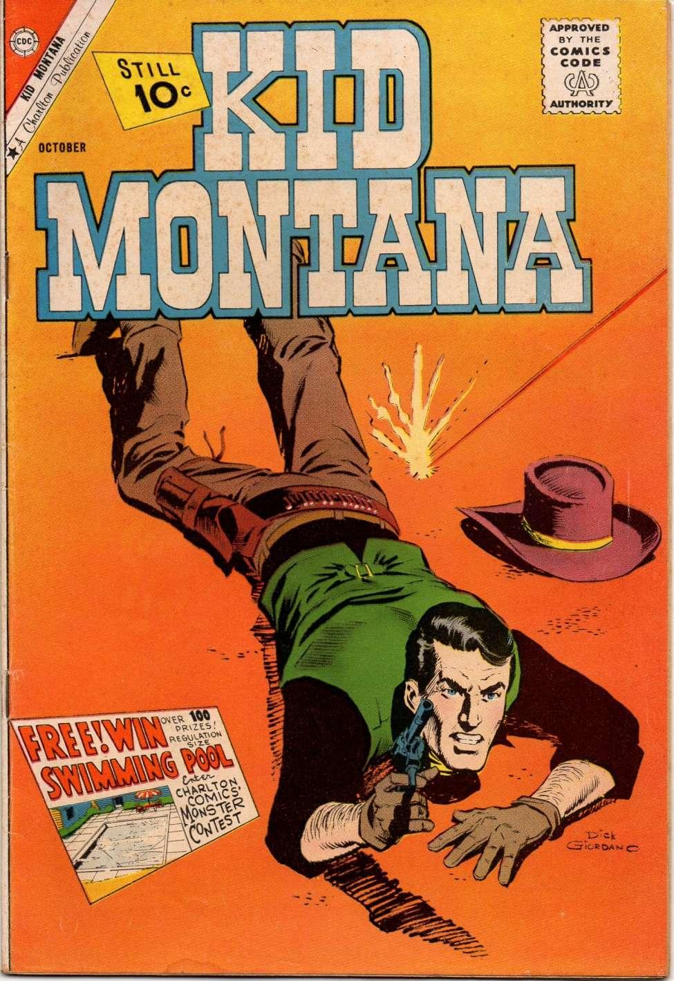 Comic Book Cover For Kid Montana #31