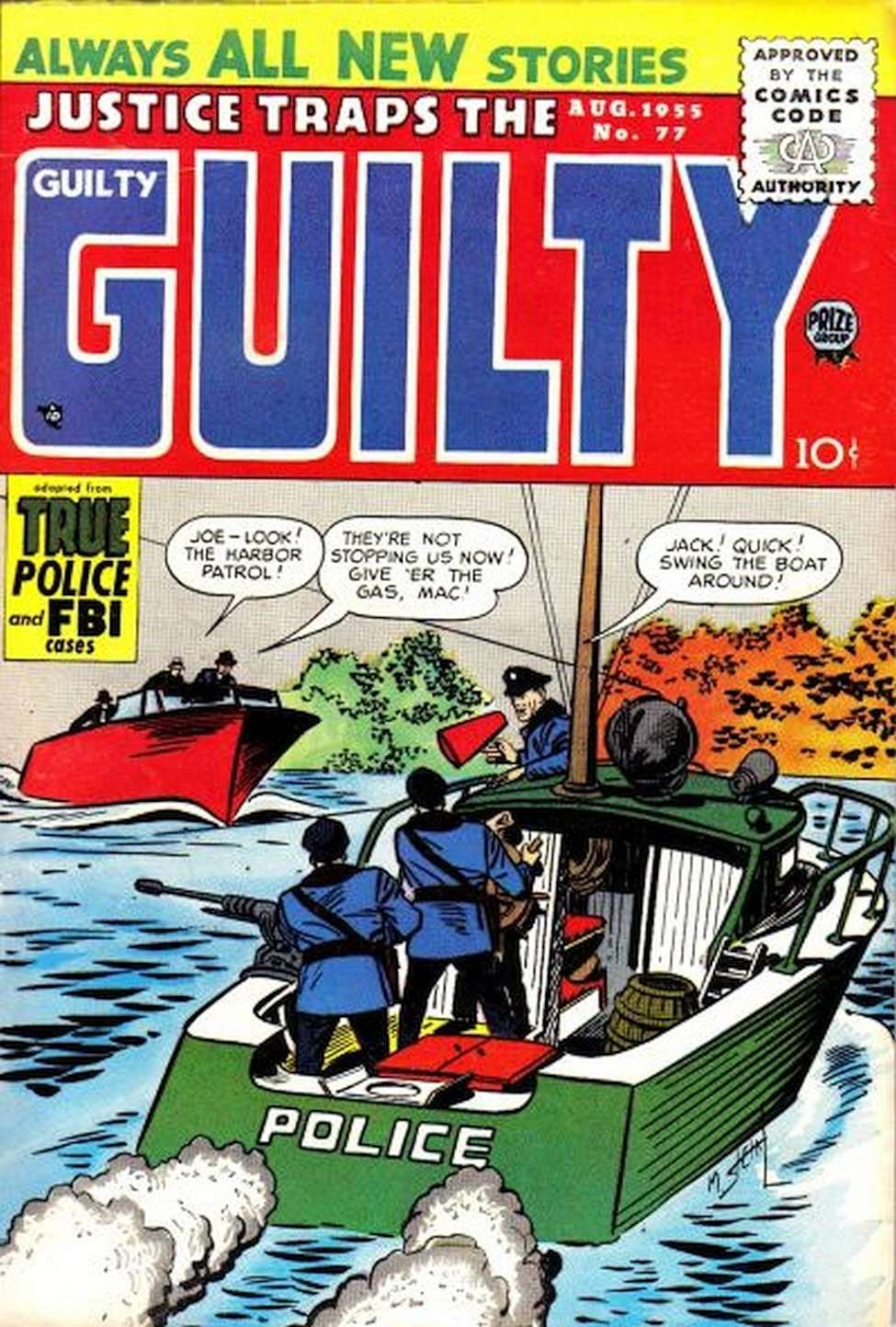 Comic Book Cover For Justice Traps the Guilty v8 11 (77)
