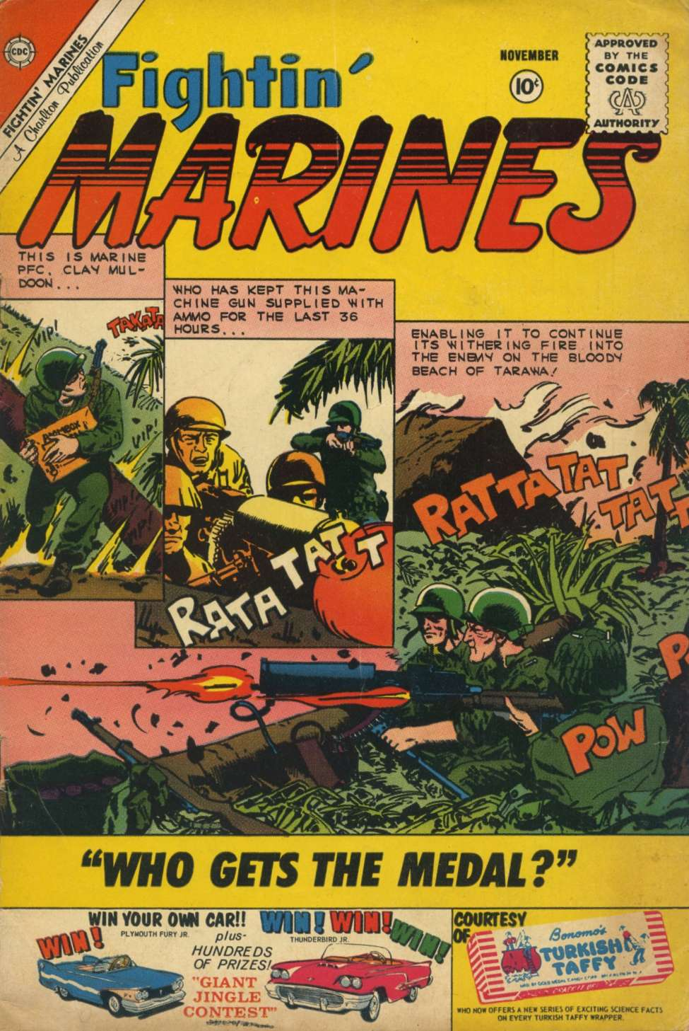 Comic Book Cover For Fightin' Marines #38
