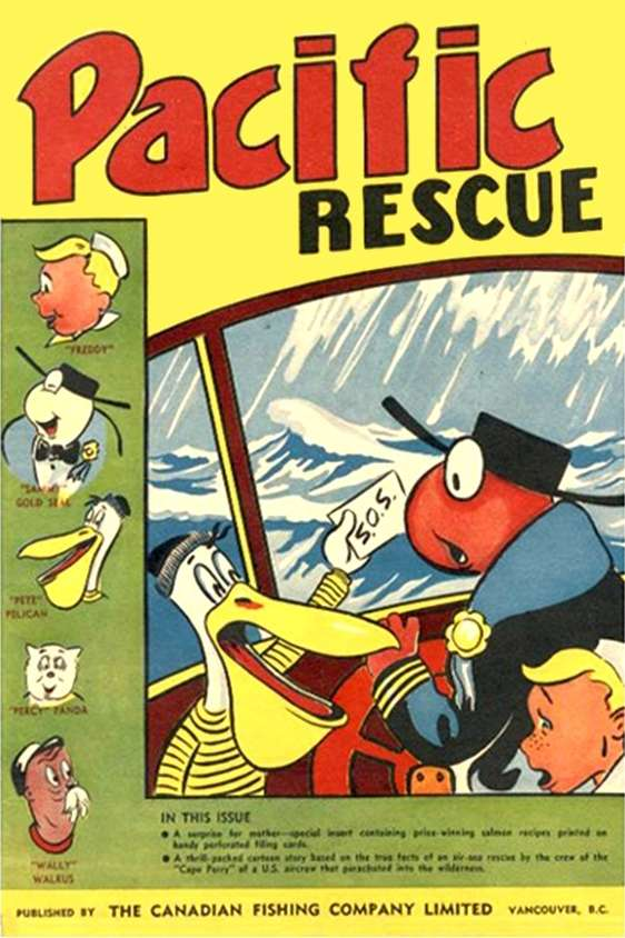 Comic Book Cover For Pacific Rescue