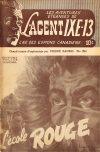 Cover For L'Agent IXE 13 v2 136 L'école rouge