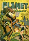 Cover For Planet Comics 27