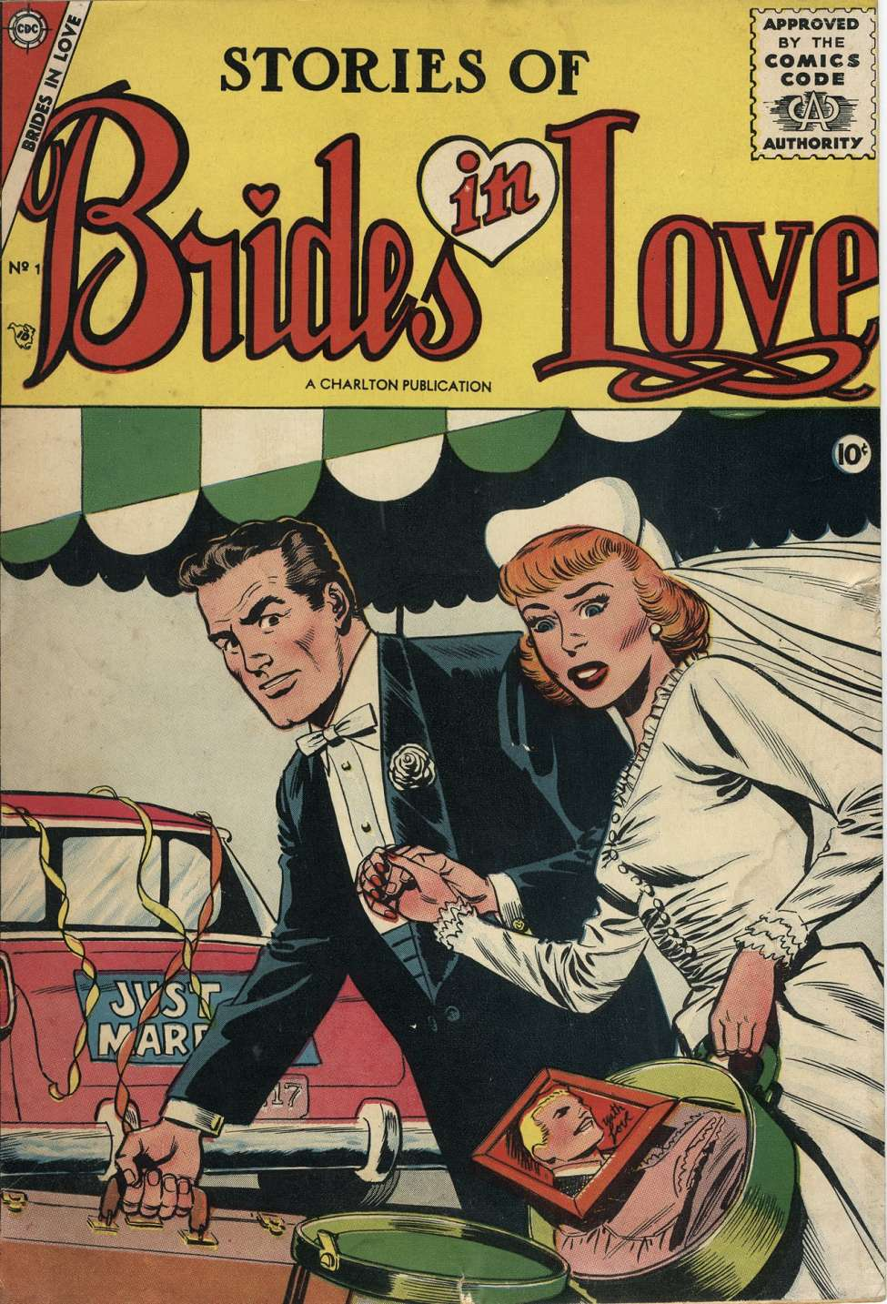 Comic Book Cover For Brides in Love #1