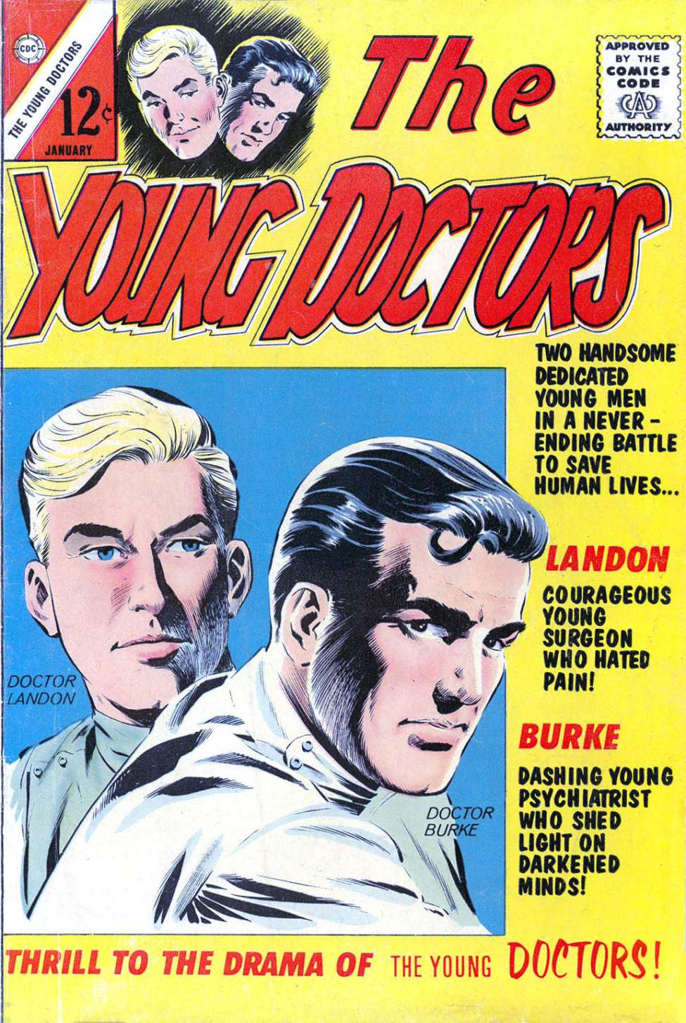 Comic Book Cover For The Young Doctors #1