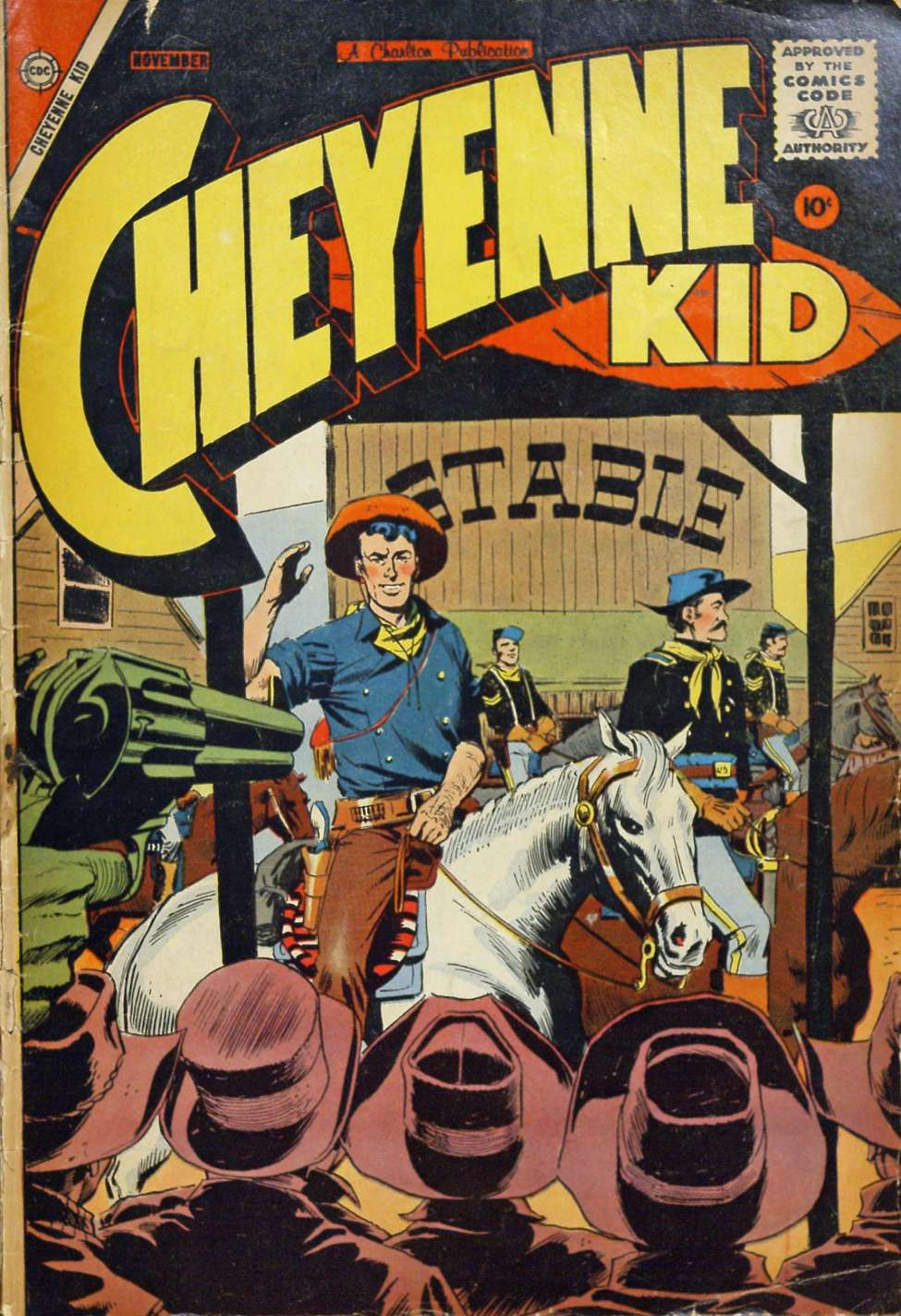 Comic Book Cover For Cheyenne Kid #14 - Version 1