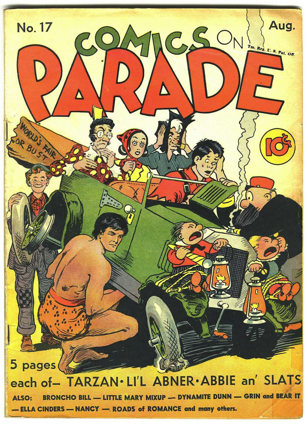 Comic Book Cover For Comics on Parade 017
