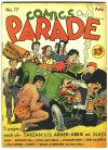 Cover For Comics on Parade 17