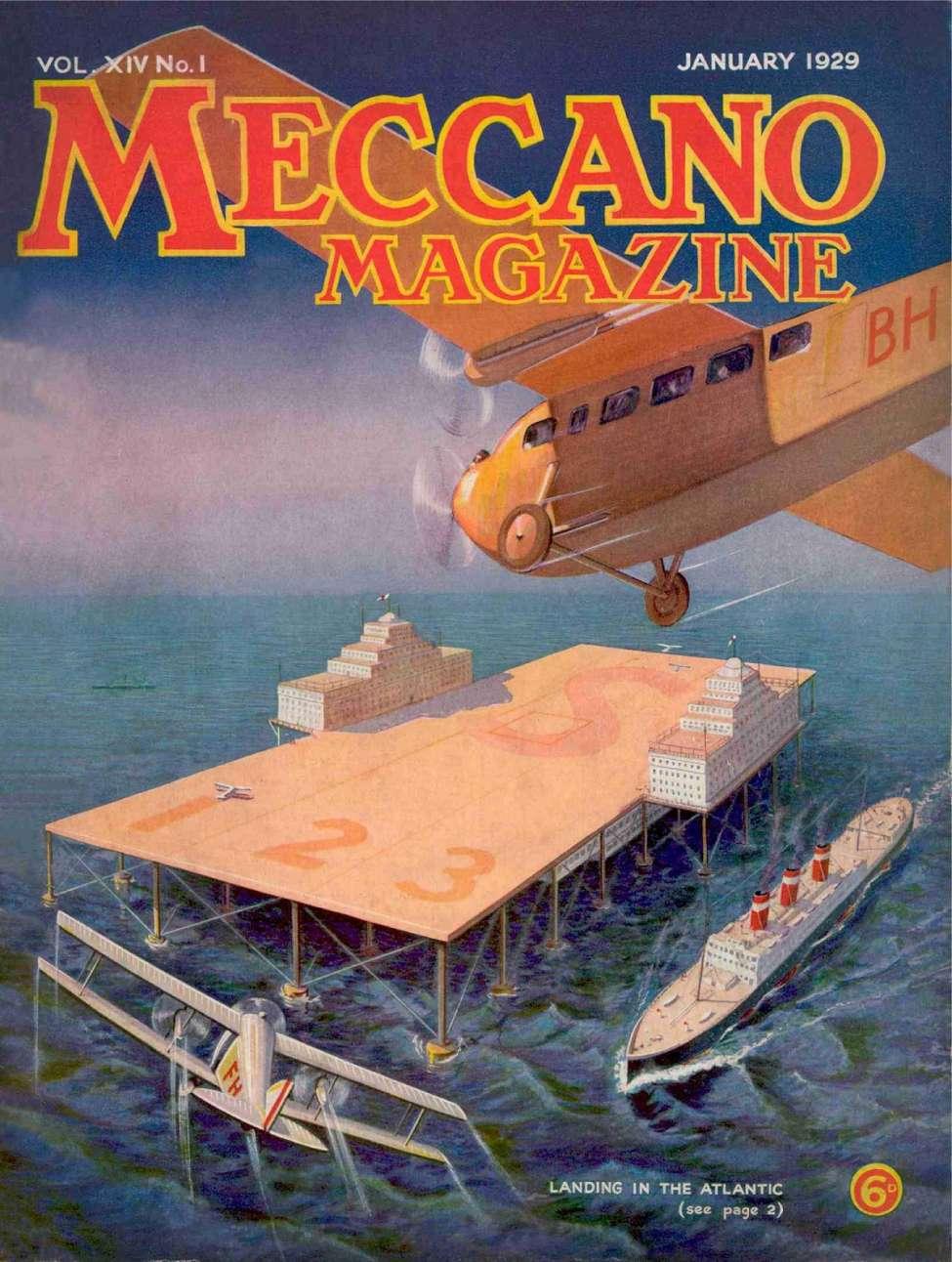 Comic Book Cover For Meccano Magazine v14 01