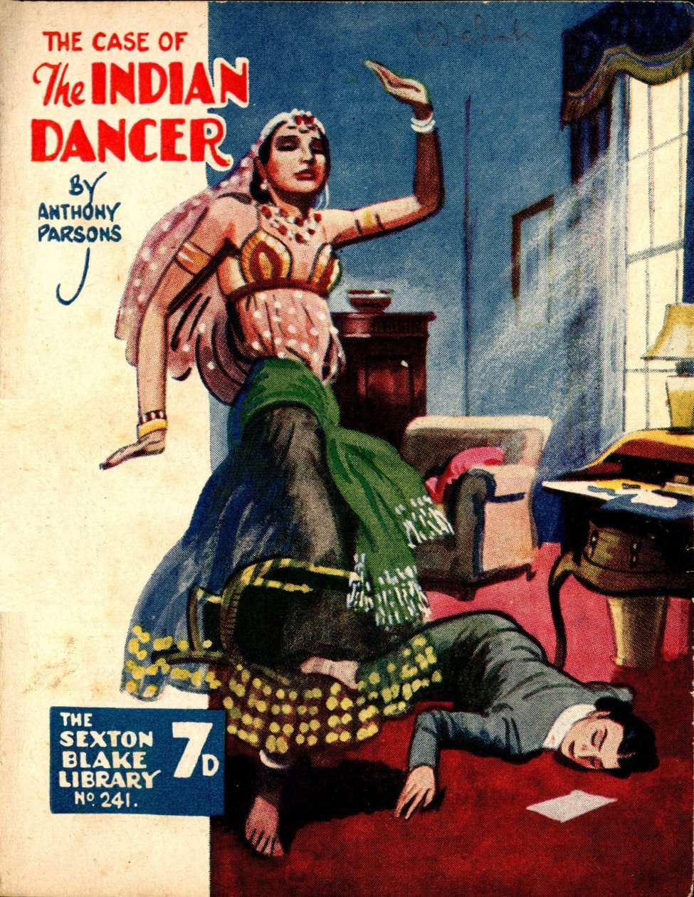 Comic Book Cover For Sexton Blake Library S3 241 - The Case of the Indian Dancer