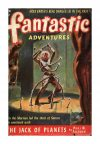 Cover For Fantastic Adventures v14 4 The Jack of Planets Paul W. Fairman