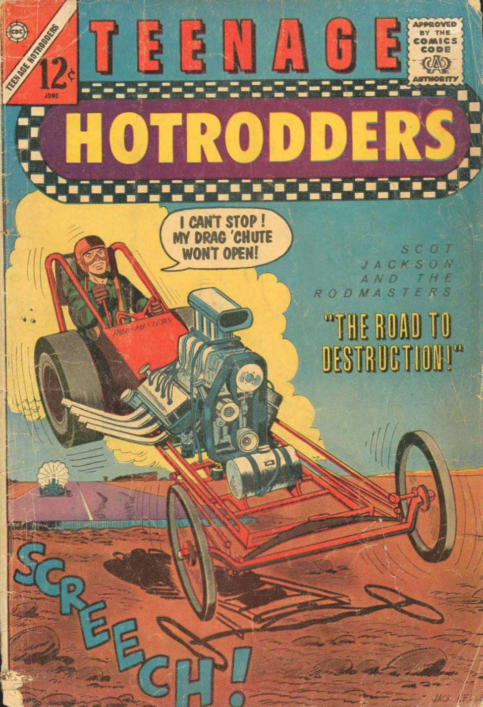 Teenage Hotrodders #2 (Charlton) - Comic Book Plus