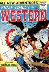 Cover For Prize Comics Western 117