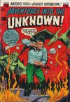 Cover For Adventures into the Unknown 43