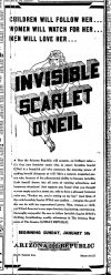 Cover For Invisible Scarlet O'Neil 1946