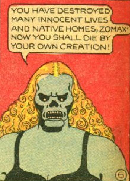 Comic Book Cover For Fantomah Archive Part 1 (Fiction House)