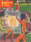 Cover For Imaginative Tales v5 2 Men of the Morning Star Edmond Hamilton