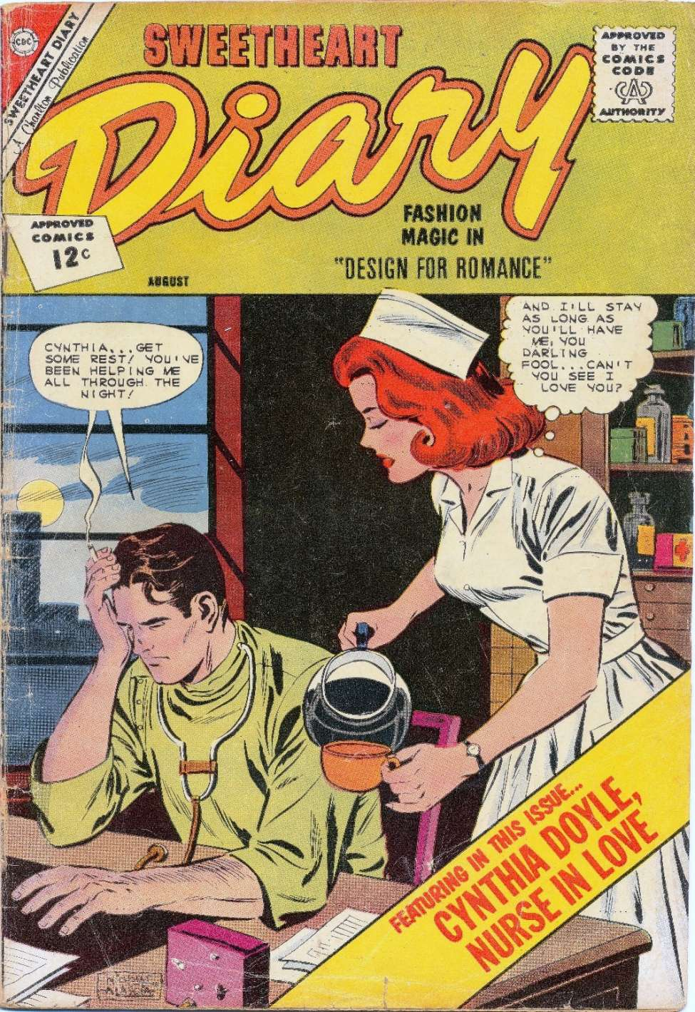 Comic Book Cover For Sweetheart Diary #65