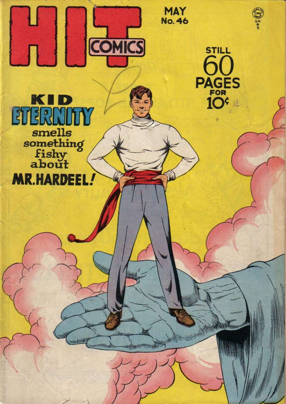 Comic Book Cover For Hit Comics #46