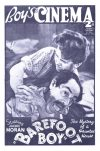 Cover For Boy's Cinema 996 Barefoot Boy starring Jackie Morgan