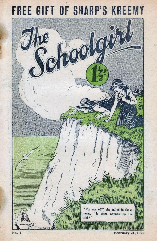 Comic Book Cover For Shureys Schoolgirl 001