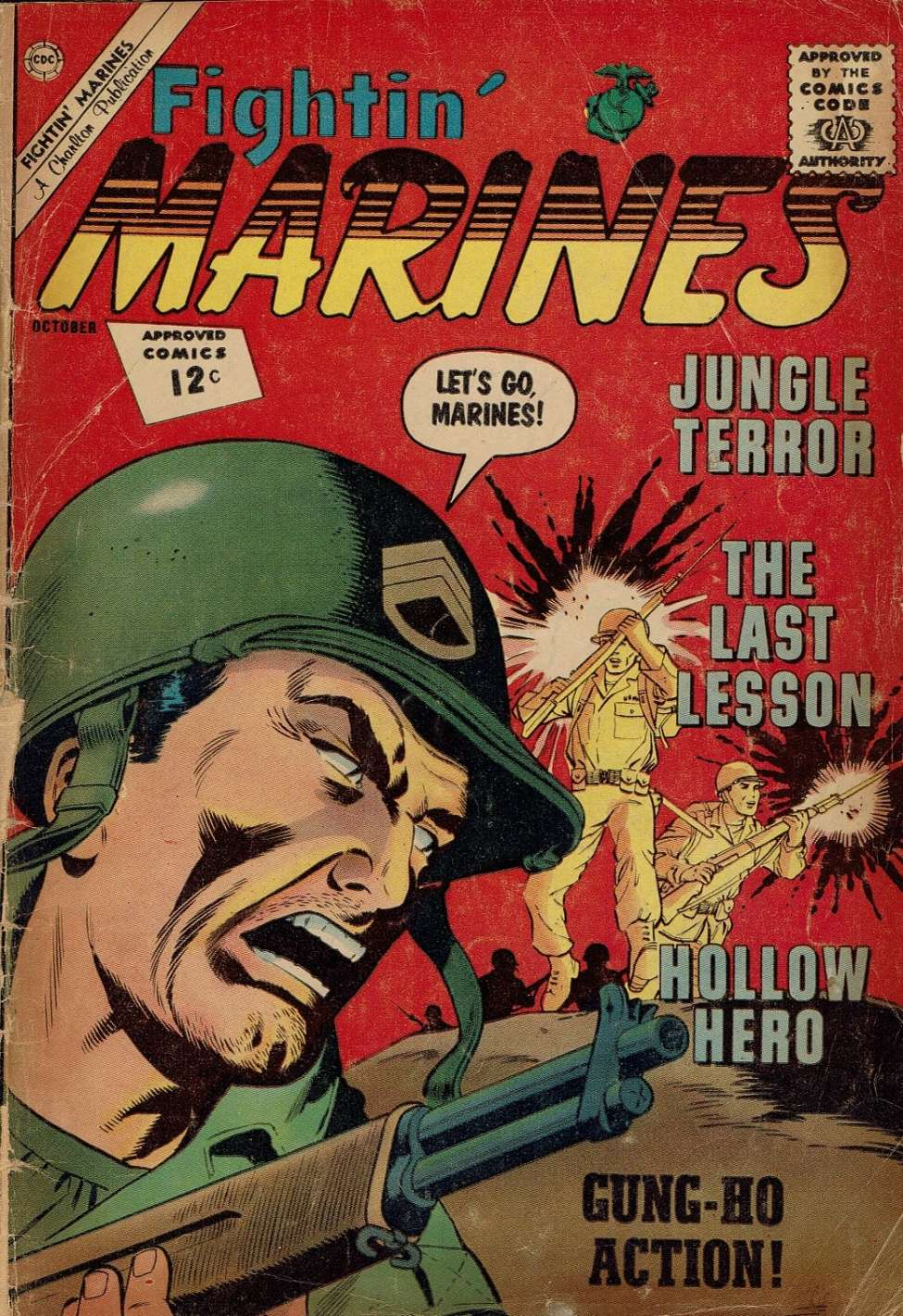 Comic Book Cover For Fightin' Marines #49