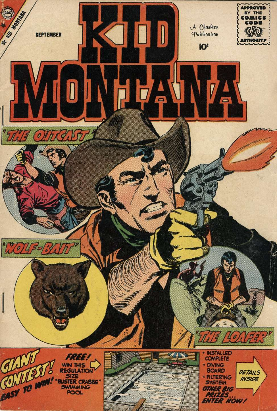 Comic Book Cover For Kid Montana #19