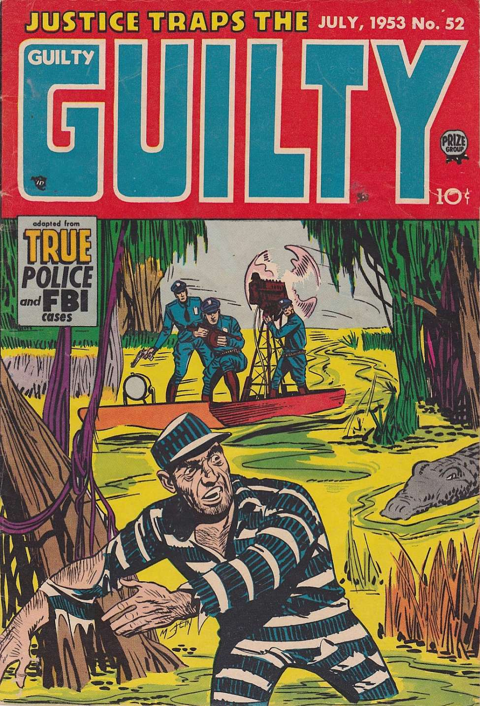 Comic Book Cover For Justice Traps the Guilty v6 10 (52) - Version 2