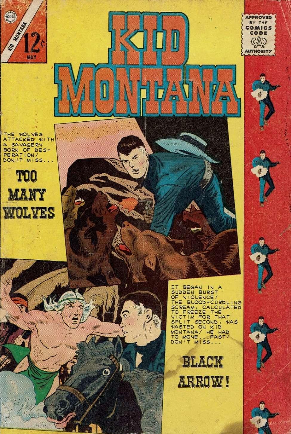 Comic Book Cover For Kid Montana #40