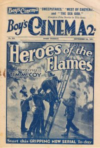Large Thumbnail For Boy's Cinema 0612 - Heroes of the Flames starring Tim McCoy