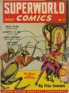 Cover For Superworld Comics 3