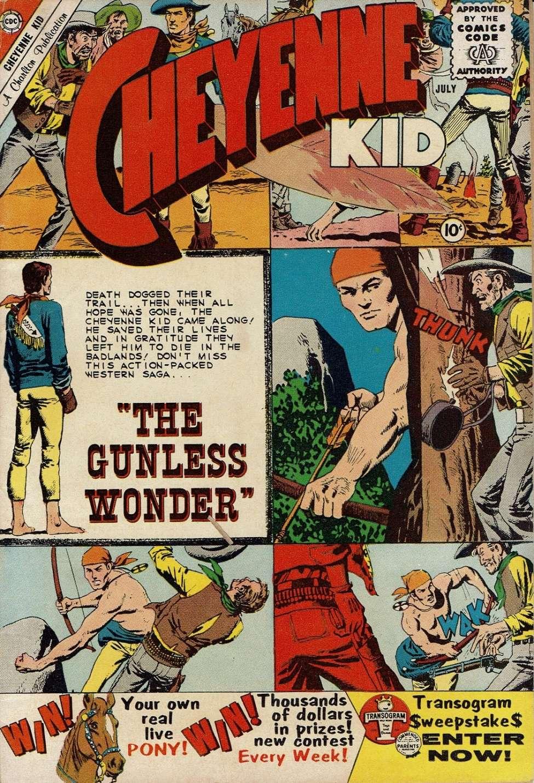 Comic Book Cover For Cheyenne Kid #23