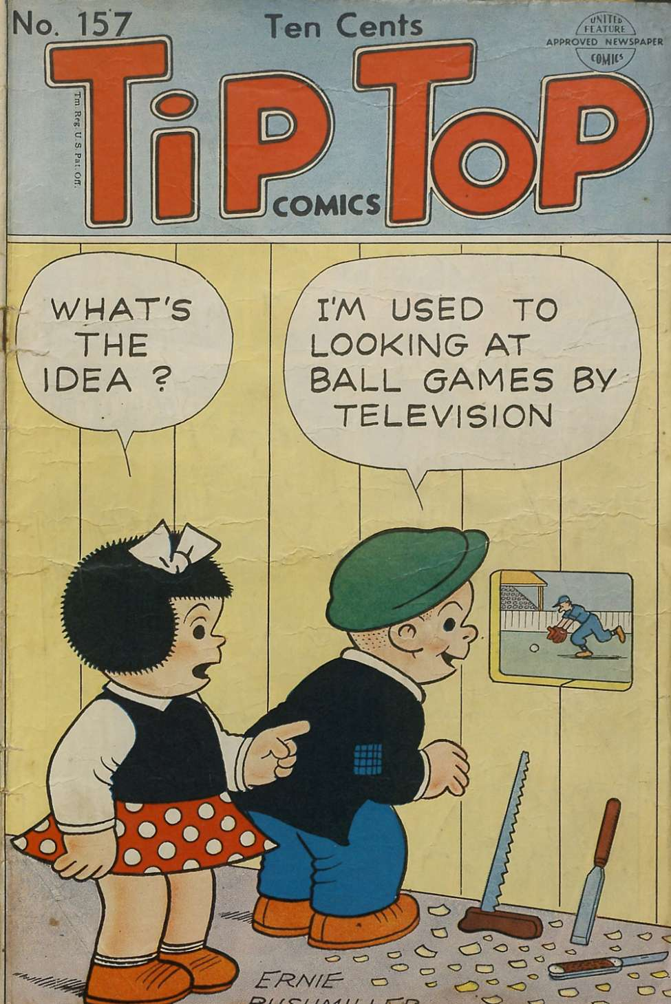 Comic Book Cover For Tip Top Comics 157